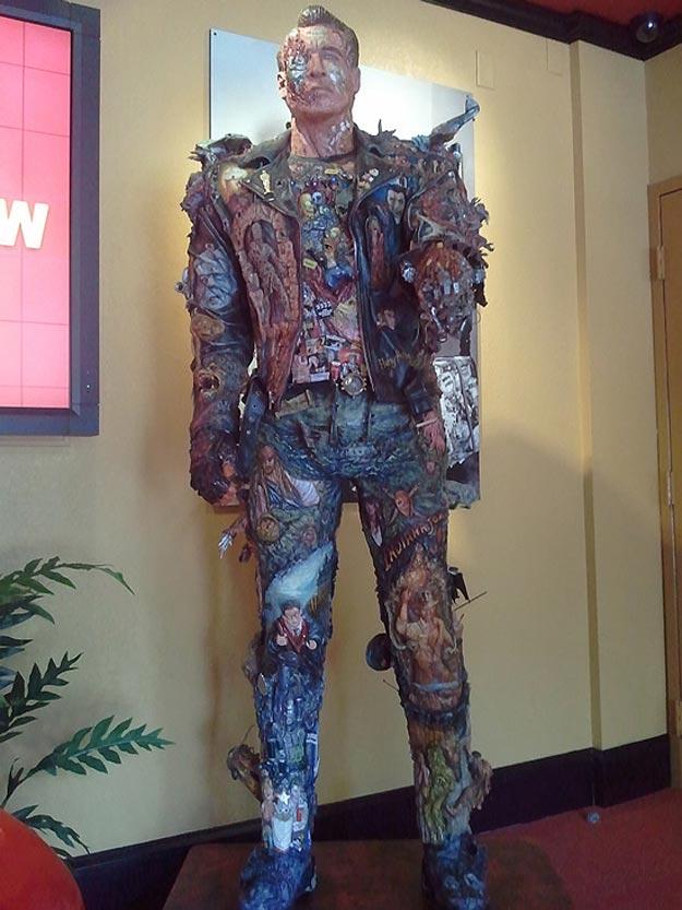 Ripley's Museum Terminator Sculpture