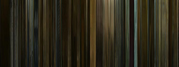 Favorite Movies Compressed in Data