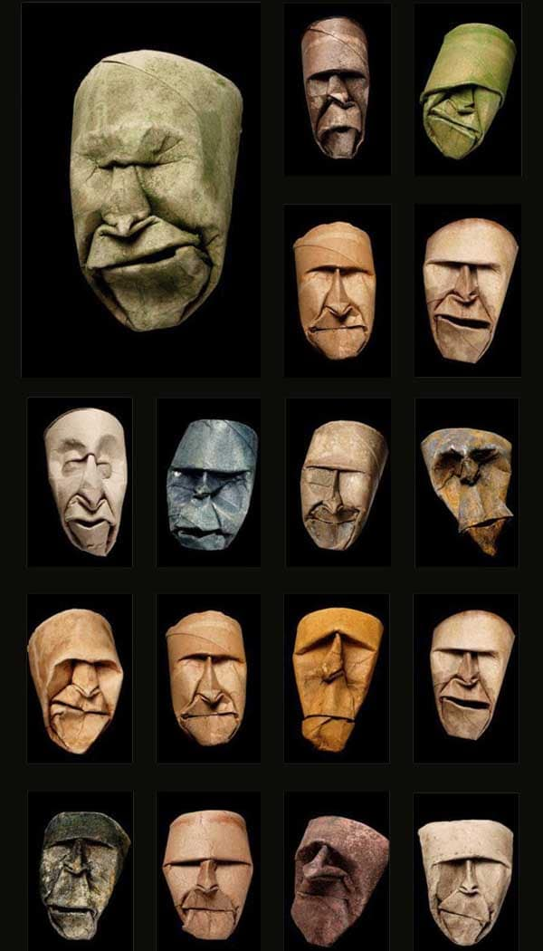Toilet Paper Roll Faces: The Creepiest Use Of A Toilet Paper Roll Ever