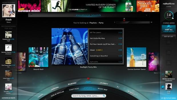 Touch Screen Smart Jukebox Design