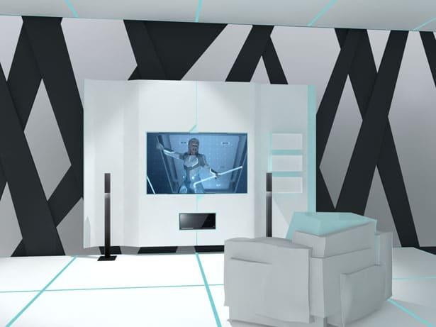 Tron Interior Design Exhibition Showcase