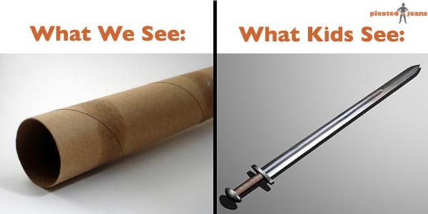 Kids See Things Differently