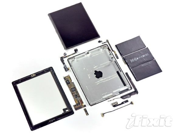 iPad 2 Teardown Interior Showcase
