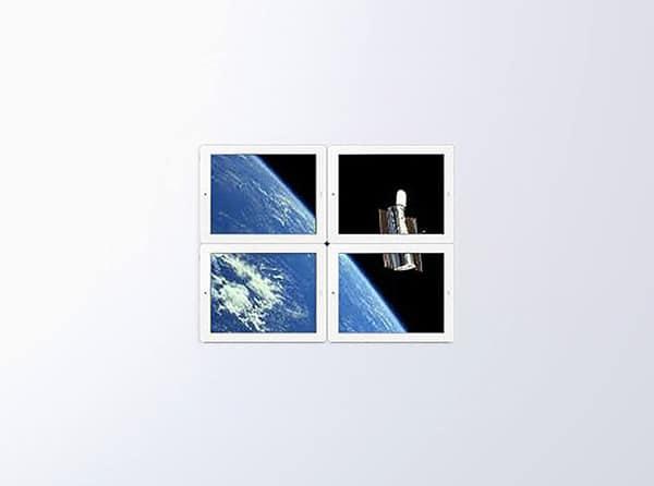 Outside Window Though iPad 2