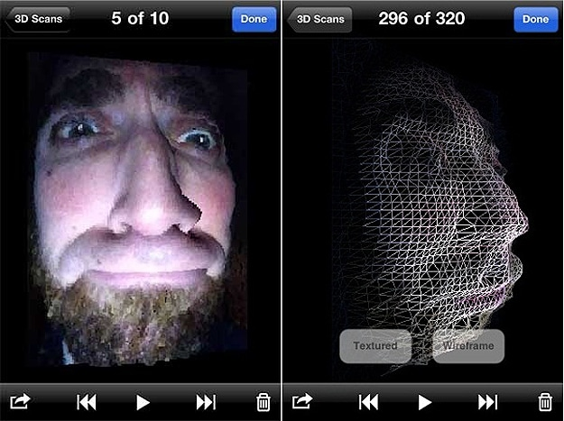 Trimensional 3D Image iPhone App