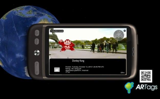 ARTags: Augmented Reality Graffiti Tagging Application