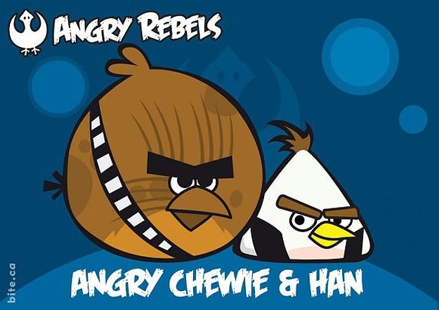 Mashup Angry Birds Star Wars