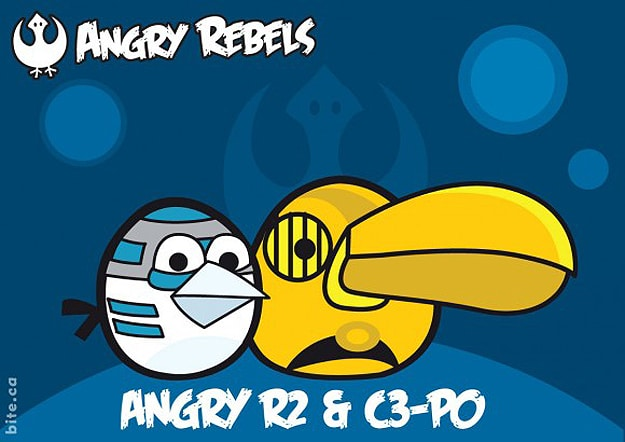 Mashup Angry Birds Star Wars