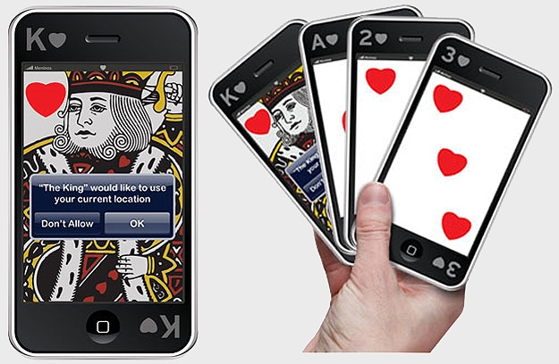 Cards Made Like iPhones