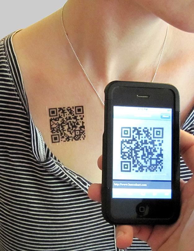 Scan Tattoo with iPhone