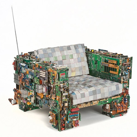 Circuit Board Seating: No Geek Is Complete Without It