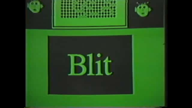 Blit Terminal Multitasking User Interface