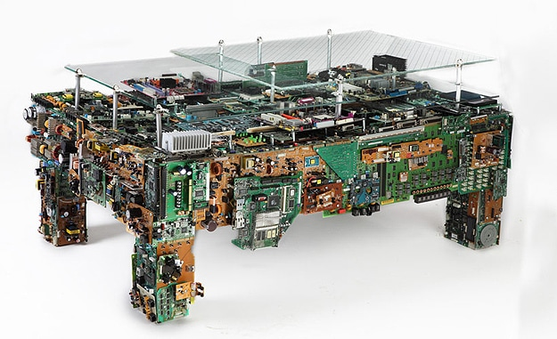 Get Your Geek On: The Circuit Board Coffee Table