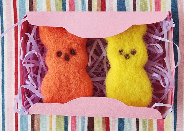 Easter Bunny Felt Peeps