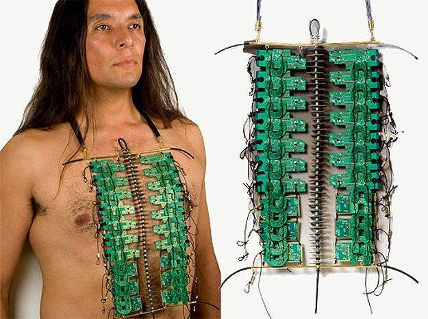 Circuit Board Wearable Shirt