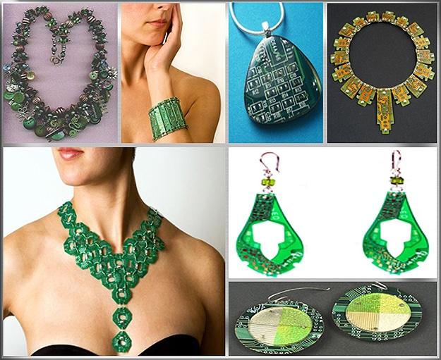 Circuit Board Jewelry Designs