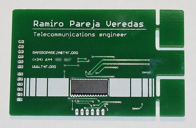 Circuit Board USB Business Card