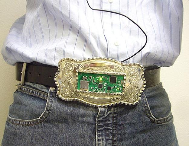 Circuit Board Belt Buckle mp3