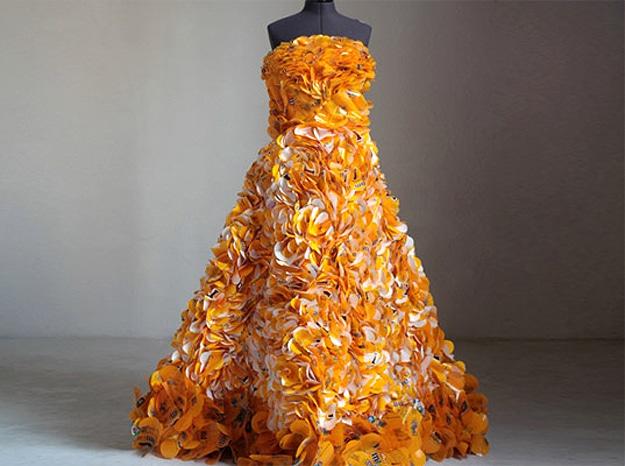 Peanut M&M Wrapper Dress