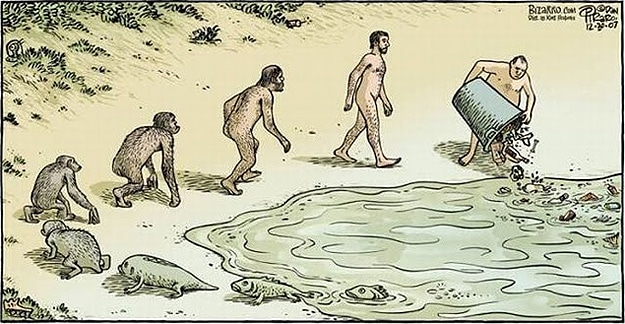 The Evolution Of Man: 13 Creative Parody Illustrations