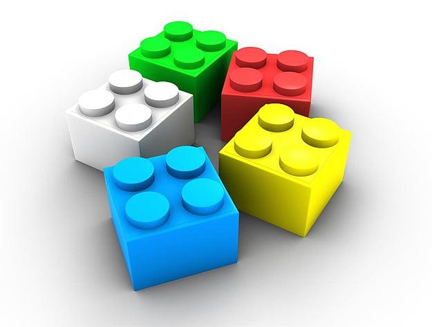 Lego Stilettos High Heels