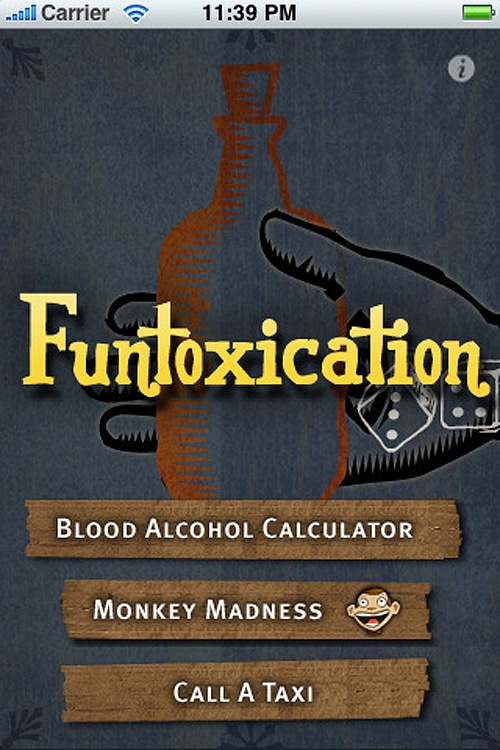 Funtoxication Blood Alcohol Level App