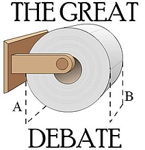Over Or Under: The Great Toilet Paper Dispute