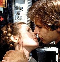 Han Solo and Princess Leia's Wedding Rings