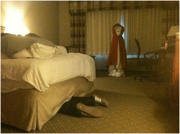 Hilarious Hotel Maid Scare Pranks