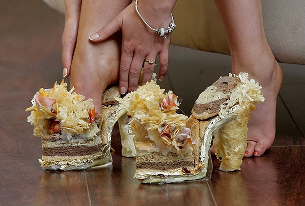 Jimmy Cheese Shoes Made From A Stale Sandwich