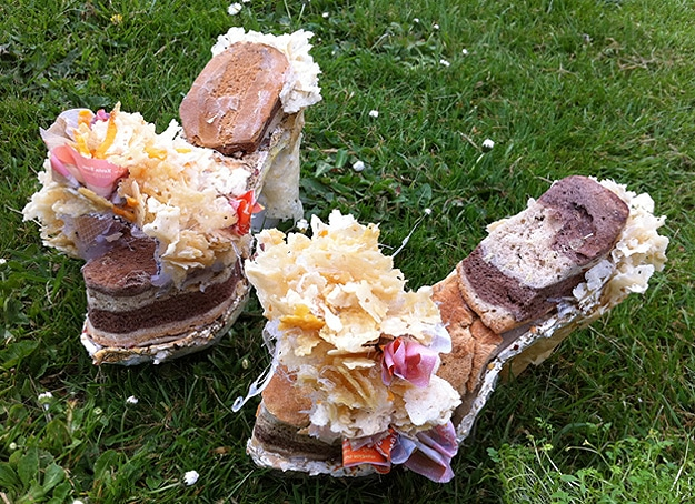 Shoes Made From Cheddar Cheese