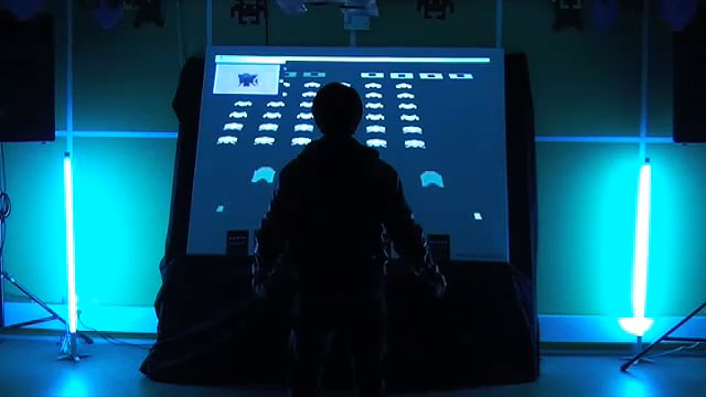 Kinect Hack: The New Way To Play Space Invaders