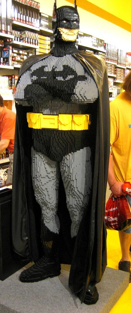 Lego Life Size Batman Build