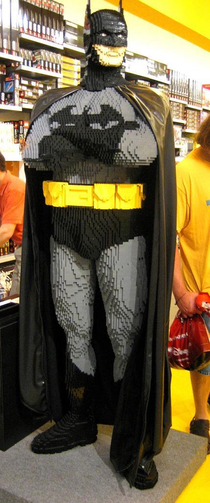 Lego Life Size Batman Build