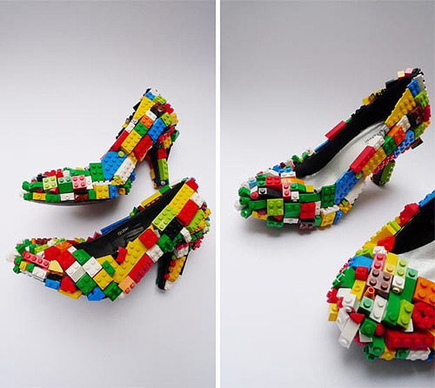 Lego Stilettos: A Geek Girl's Dream Come True
