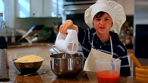Kids Get Hurt In Kitchen