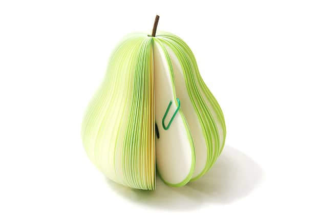 Pear Shaped Sticky Note