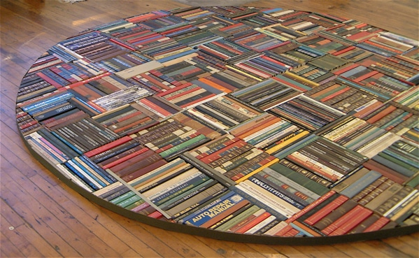 Rug Made Out Of Books