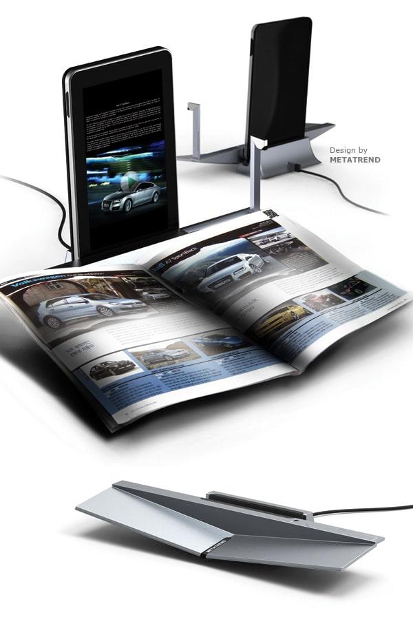 Smart Bookrest Hopes To Bridge Digital And Printed Media