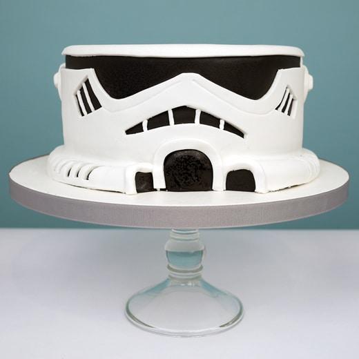 Star Wars Birthday Character Cake