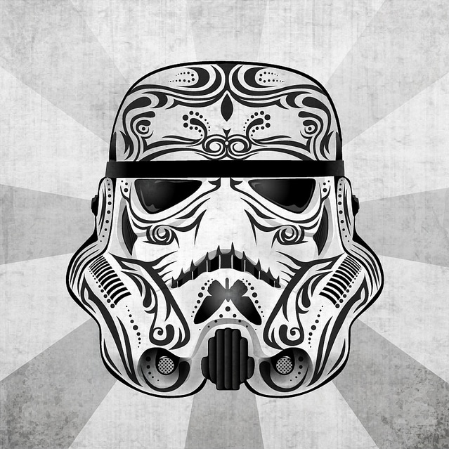 Star Wars Character Mexican Art