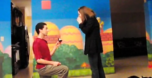 Super Mario Proposal: When Geekery Has No Boundaries