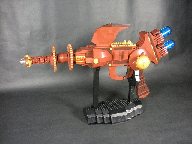 Tessla Ray Gun Lego Build