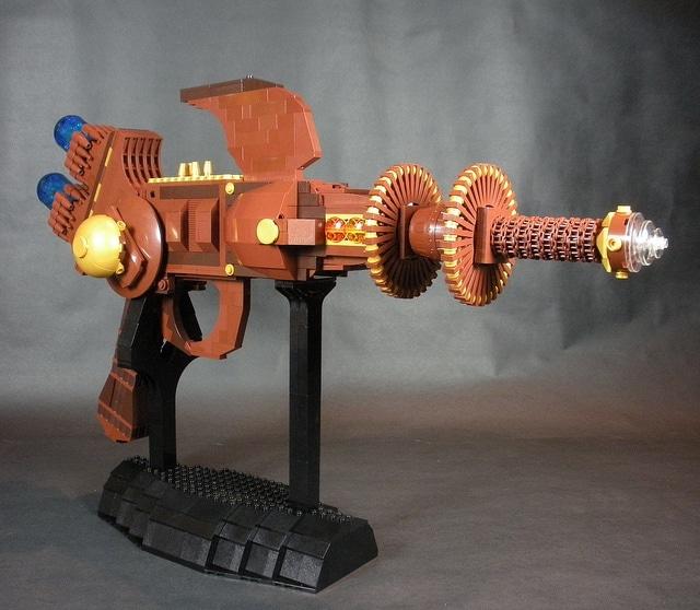 Tessla Ray Gun Lego Build