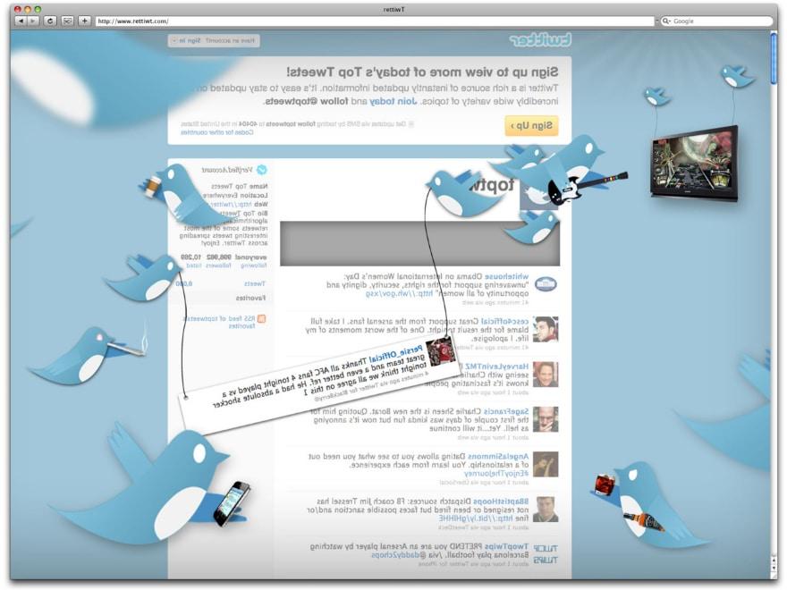 The Back Side Of Websites