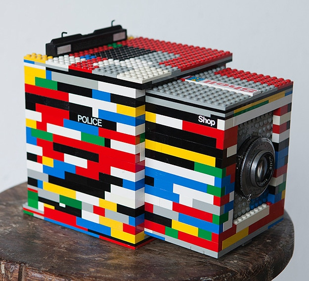 Camera Made With Lego Bricks