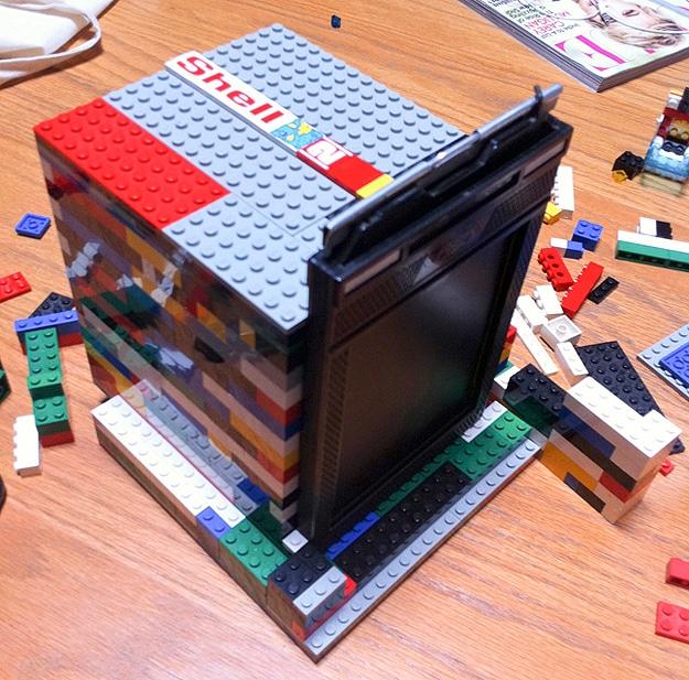 Camera Made With Lego Bricks