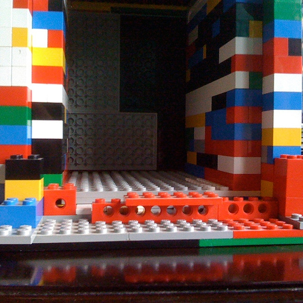 Camera Made From Lego Bricks