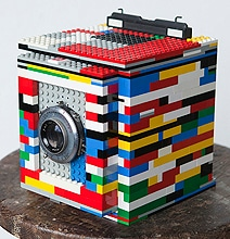 A Working Camera Made With Lego Bricks