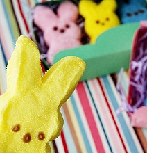 Fun Design: Fuzzy Felted Marshmallow Peeps